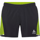 Odlo Zeroweight Ceramicool Running Shorts Men green/black